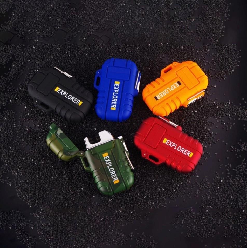 Isqueiro de Plasma à Prova Dágua Regarregável USB – Explorer