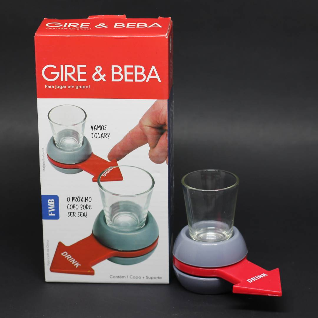 Jogo Gire & Beba
