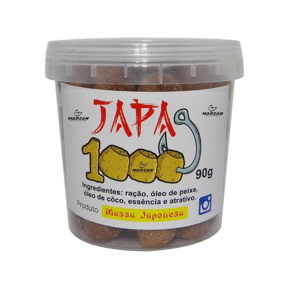 Kit 04 iscas Massa Japonesa - Ninja - Samurai - Japa 1000-Blue ICE