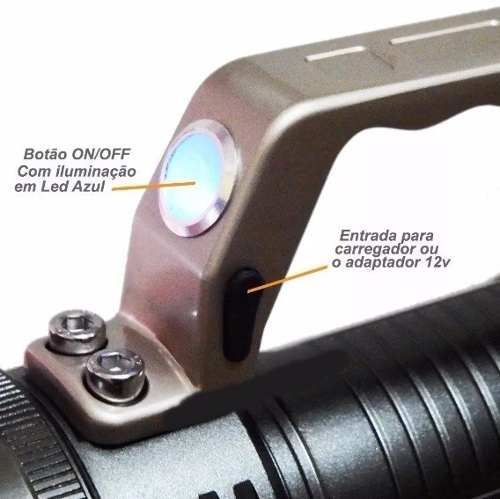 Lanterna Holofote  Lede Cree T6