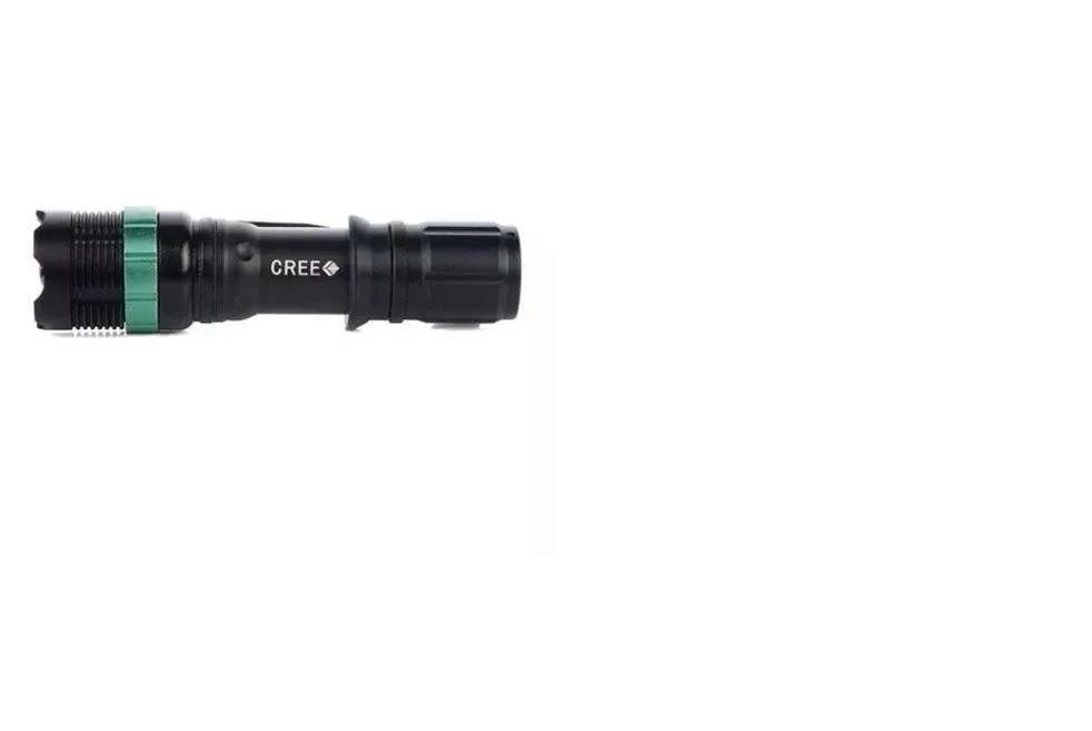 Lanterna Tatica Profissional Cree Led Police Recarregável +      Canivete Butterfly CNV-12
