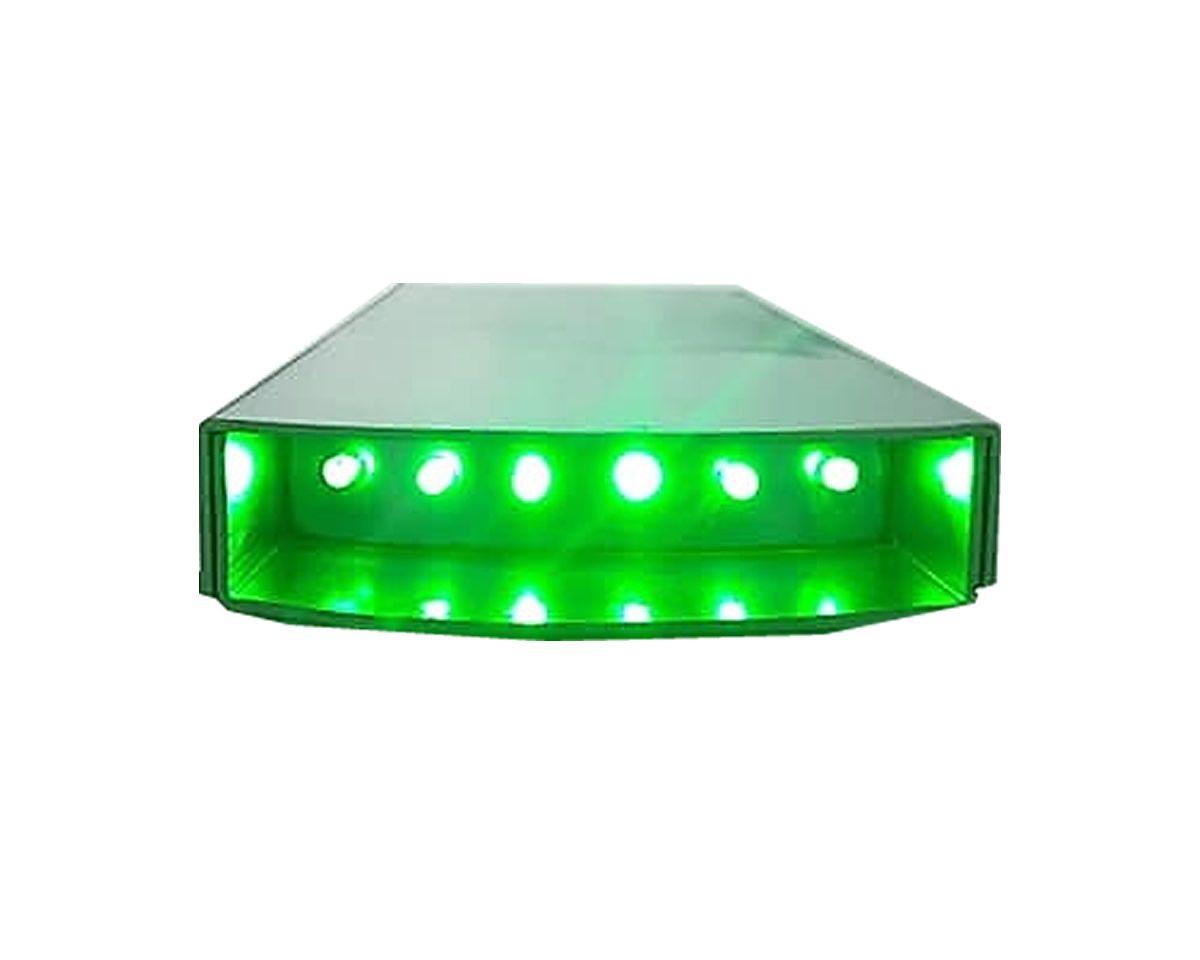 Lanterna Tilapeiro - 06 Leds Verdes