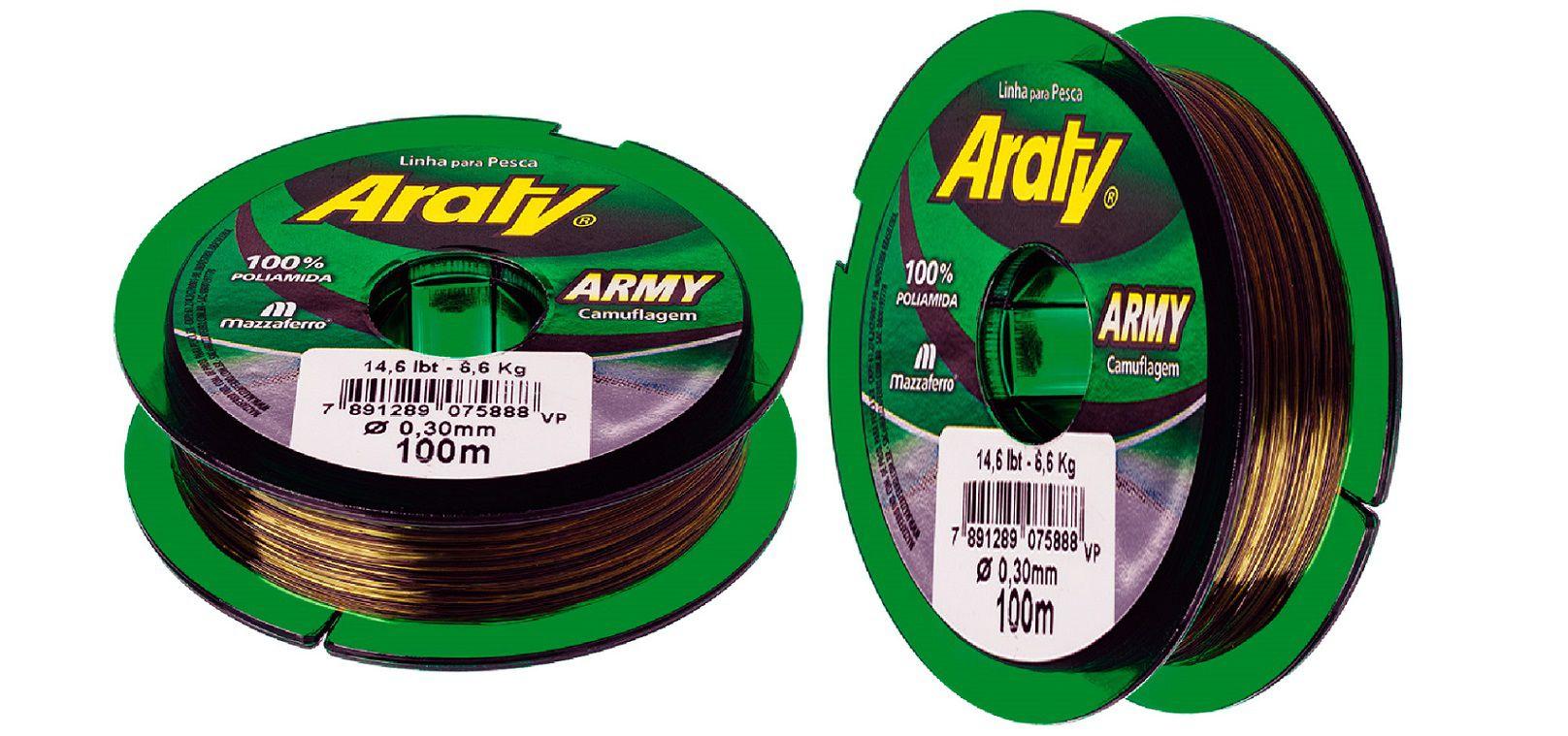 Linha Araty Army - Camuflada - 300 mt