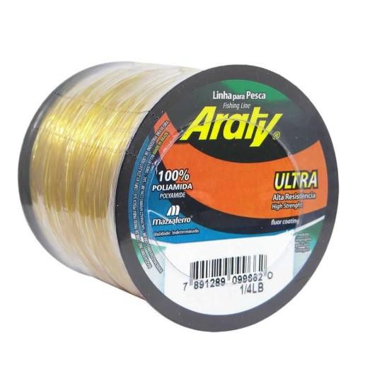 Linha Araty Ultra Ouro 0,55mm 390m