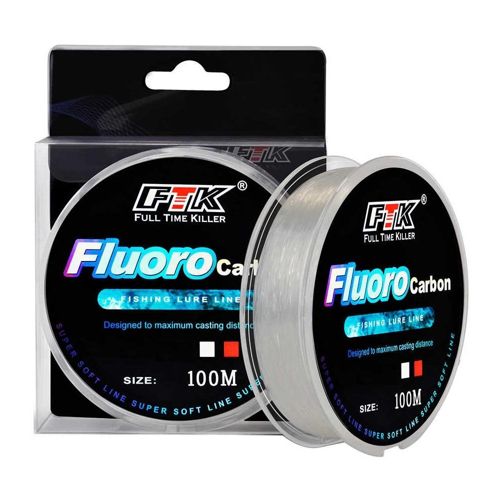 Linha Fluor Carbon FTK - 0,40 mm - 100 mts