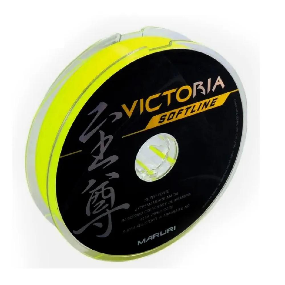 Linha Monofilamento Maruri Victoria Softline - 120 Metros
