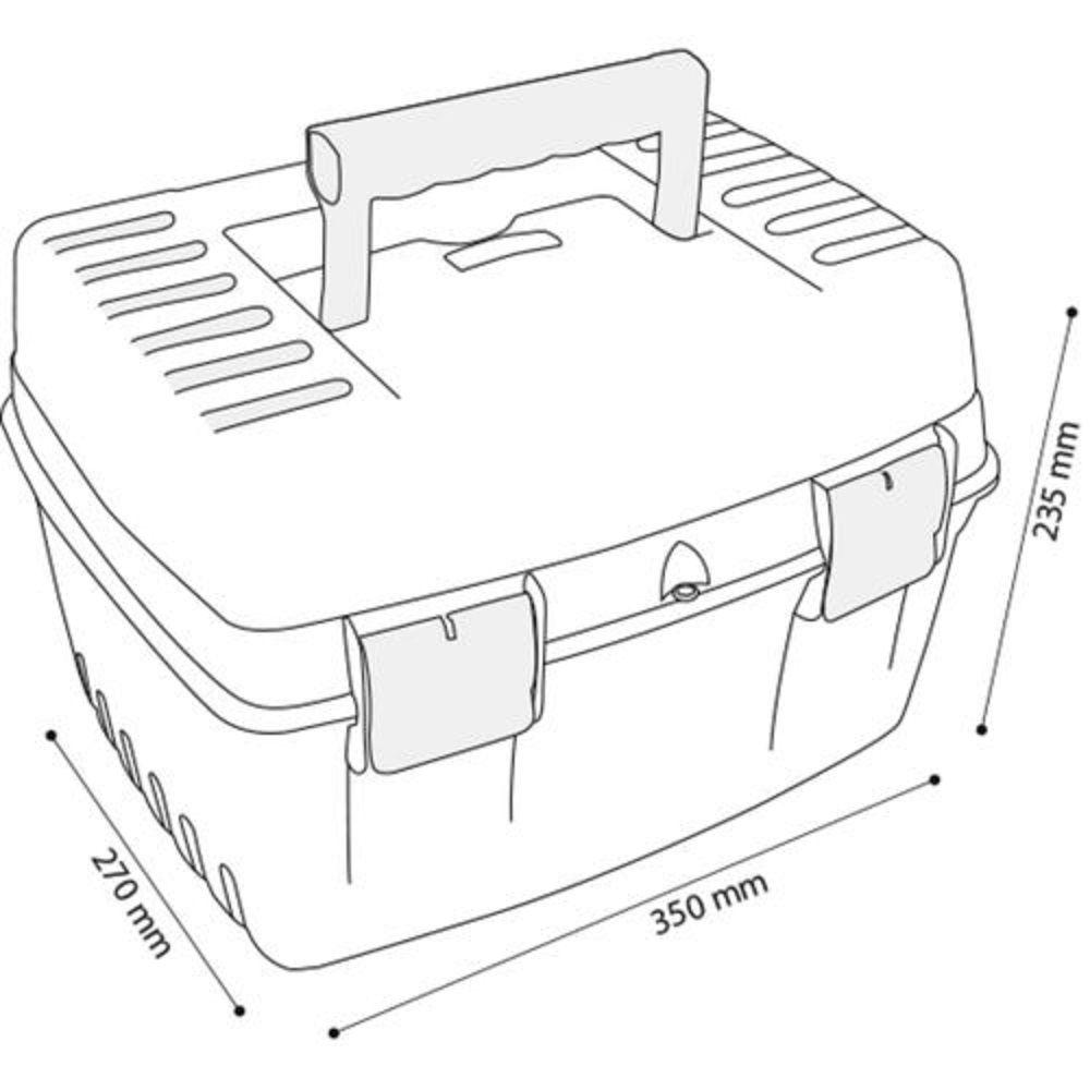 Maleta Organizadora New Box 2030 Arqplast
