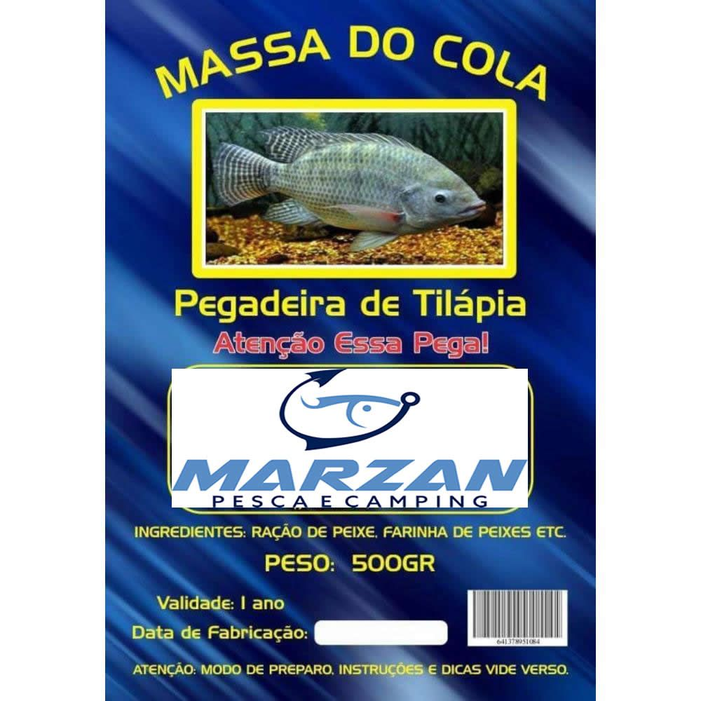 Massa do Cola - Pegadeira de Tilapia - 500 gr