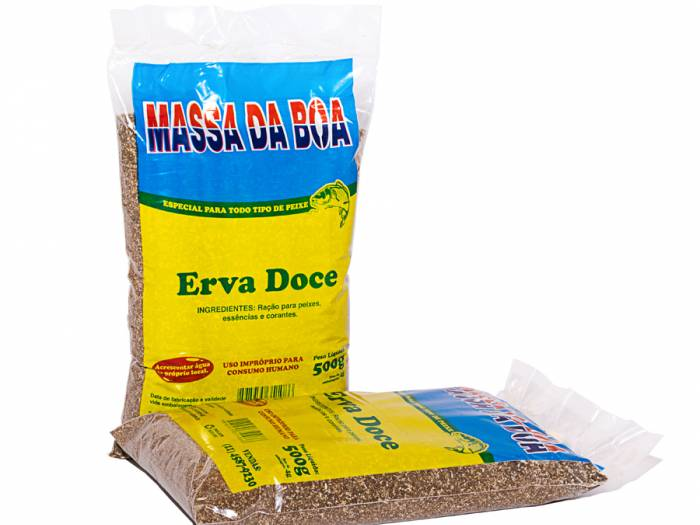 Massa Erva Doce 500 gr.