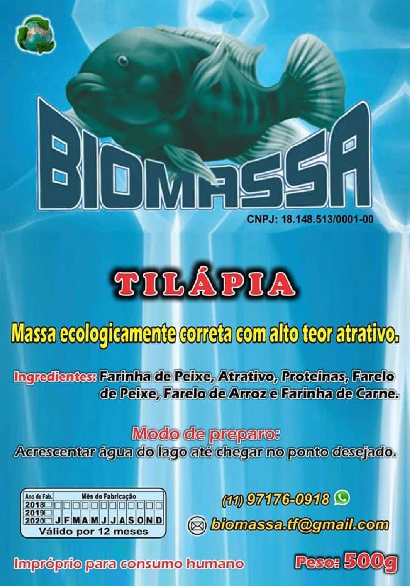 Massa Para Pesca Biomassa Tilápia