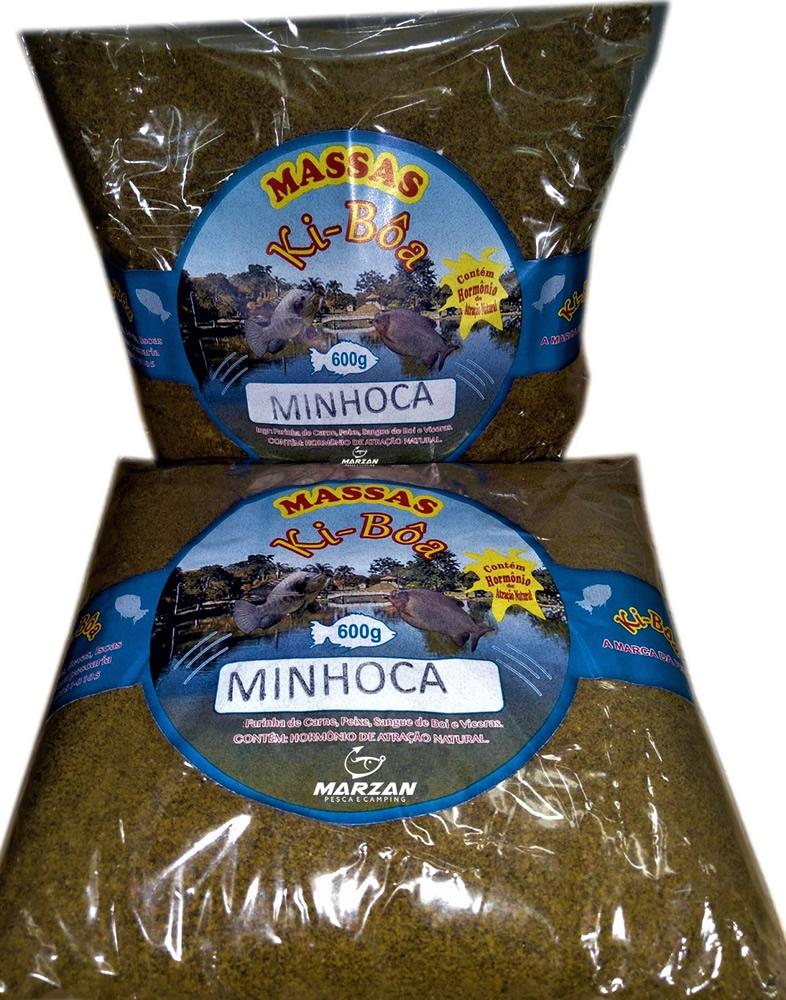 Massa Para Pesca de Minhoca - Kiboa - 600 gr