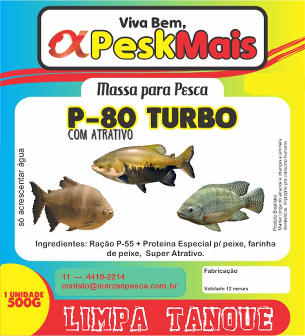 Massa Para Pesca Pesk Mais P 80 500 gr