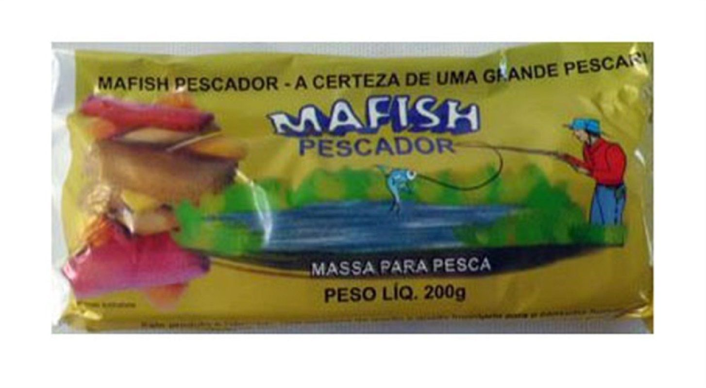 Massa Pronta Mafish - KIT COM 06 PACOTES