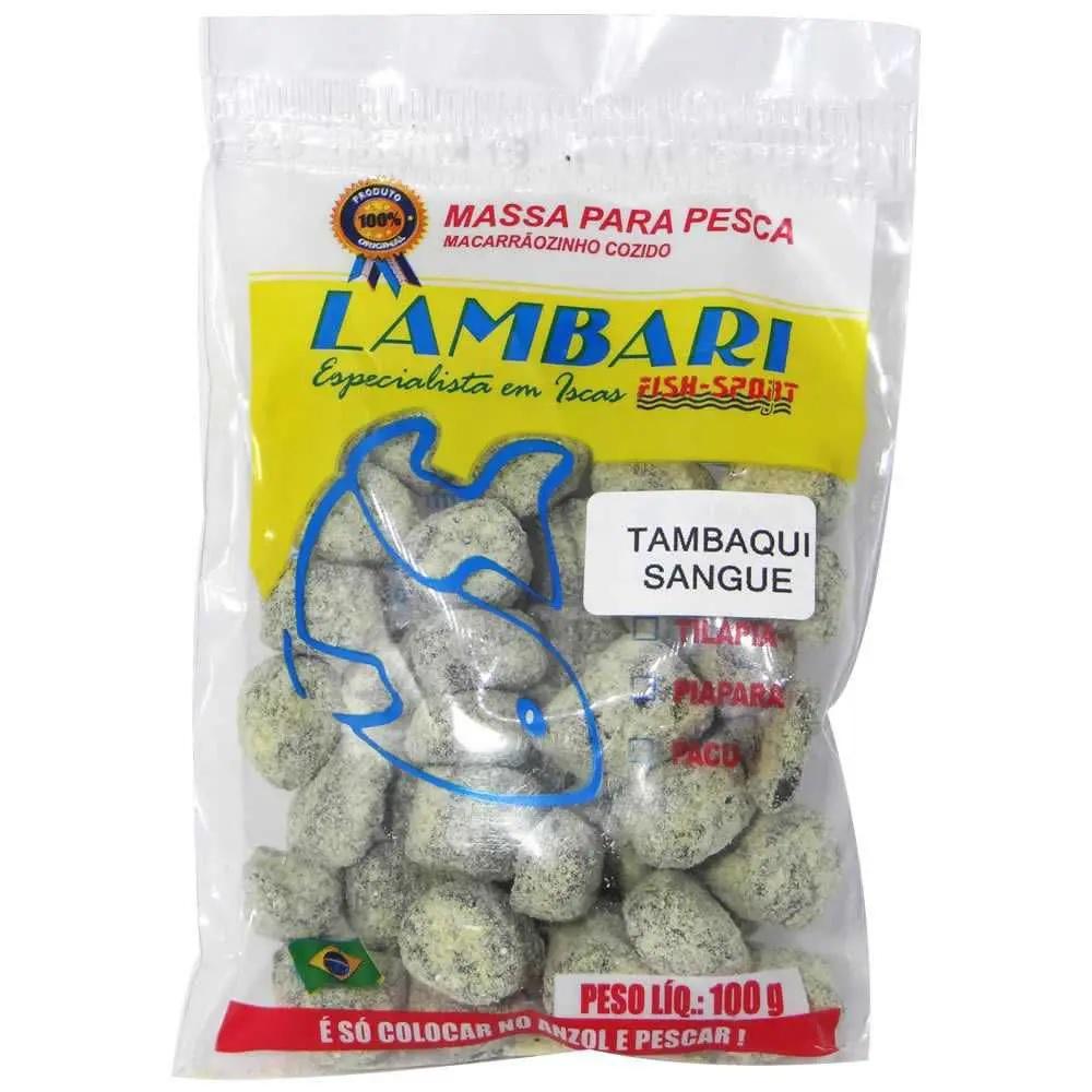 Massa Pronta Para Pesca de Tambaqui - 100 GRS