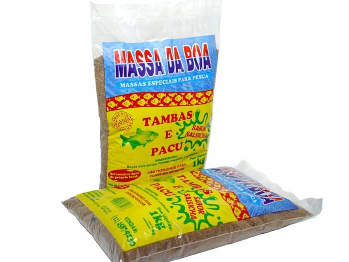 Massa  Tamba Sabor Salsicha - 1 kg.