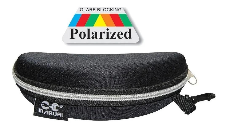 Óculos P/ Pesca Maruri Polarizado 100% Proteção Uv Dz6513