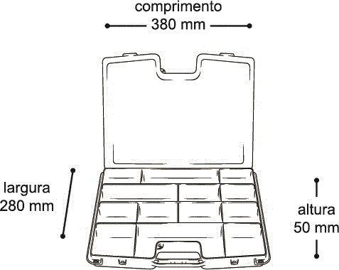 Organizador Arqplast com Alça