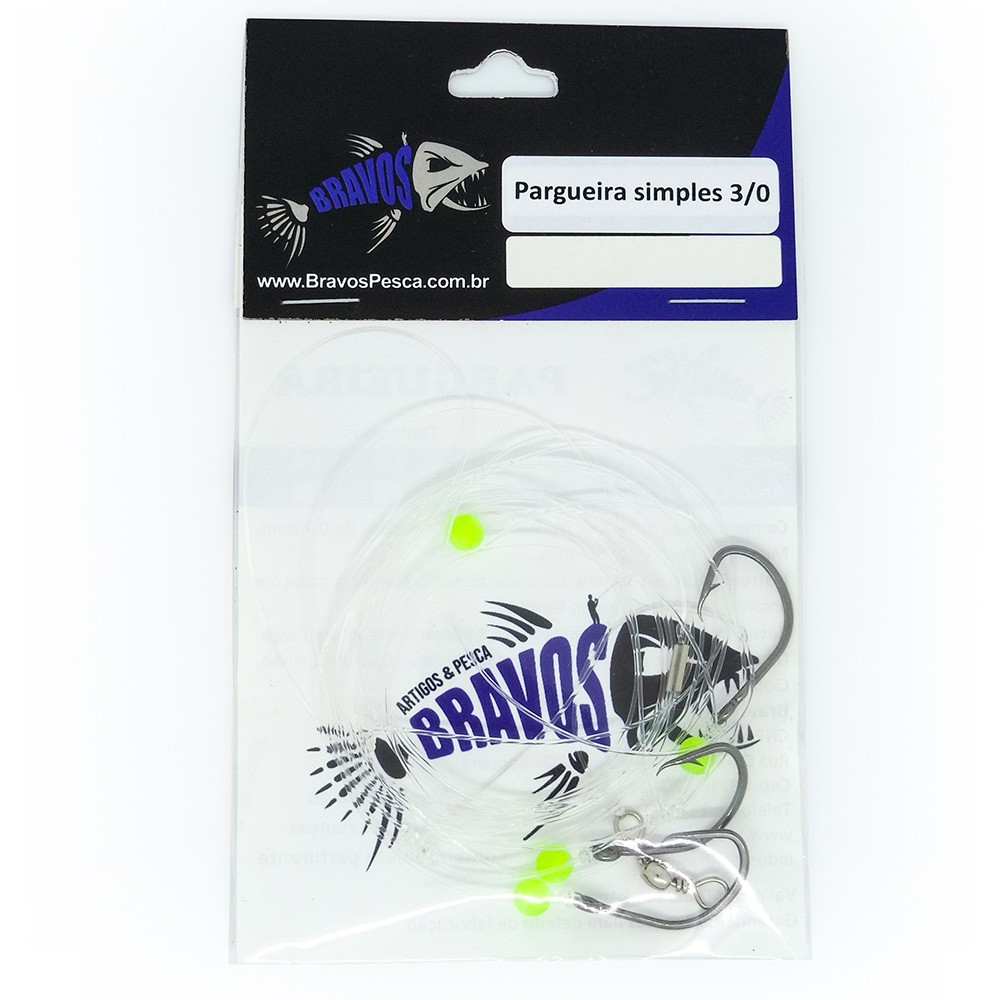Pargueira Simples 3/0 - Bravos