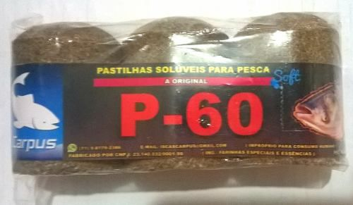 Pastilha Pesca Carpus Pacote Com 3