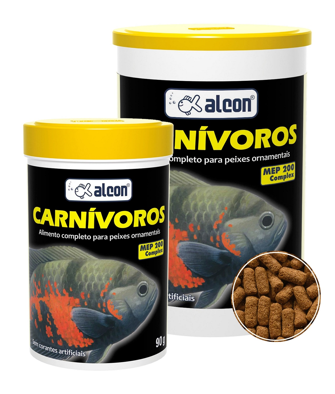 Ração Alcon Carnivoros - 90G