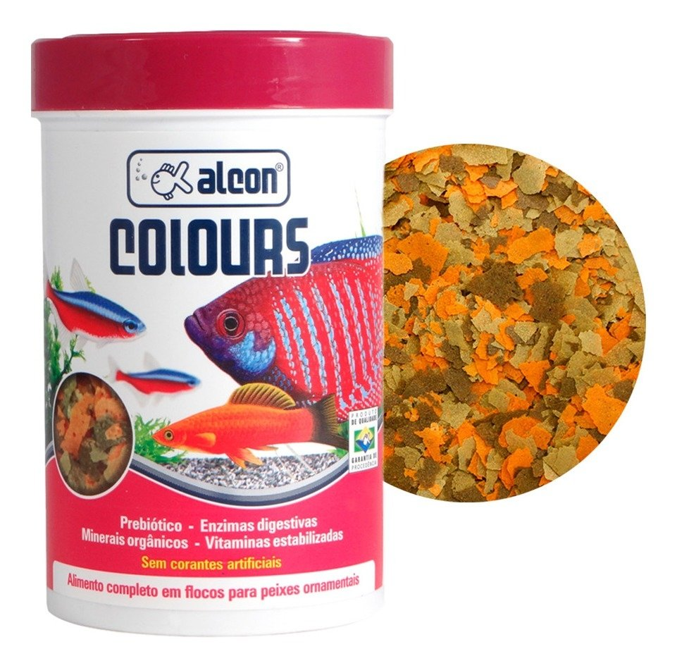 Ração Alcon Colours - 20Gr