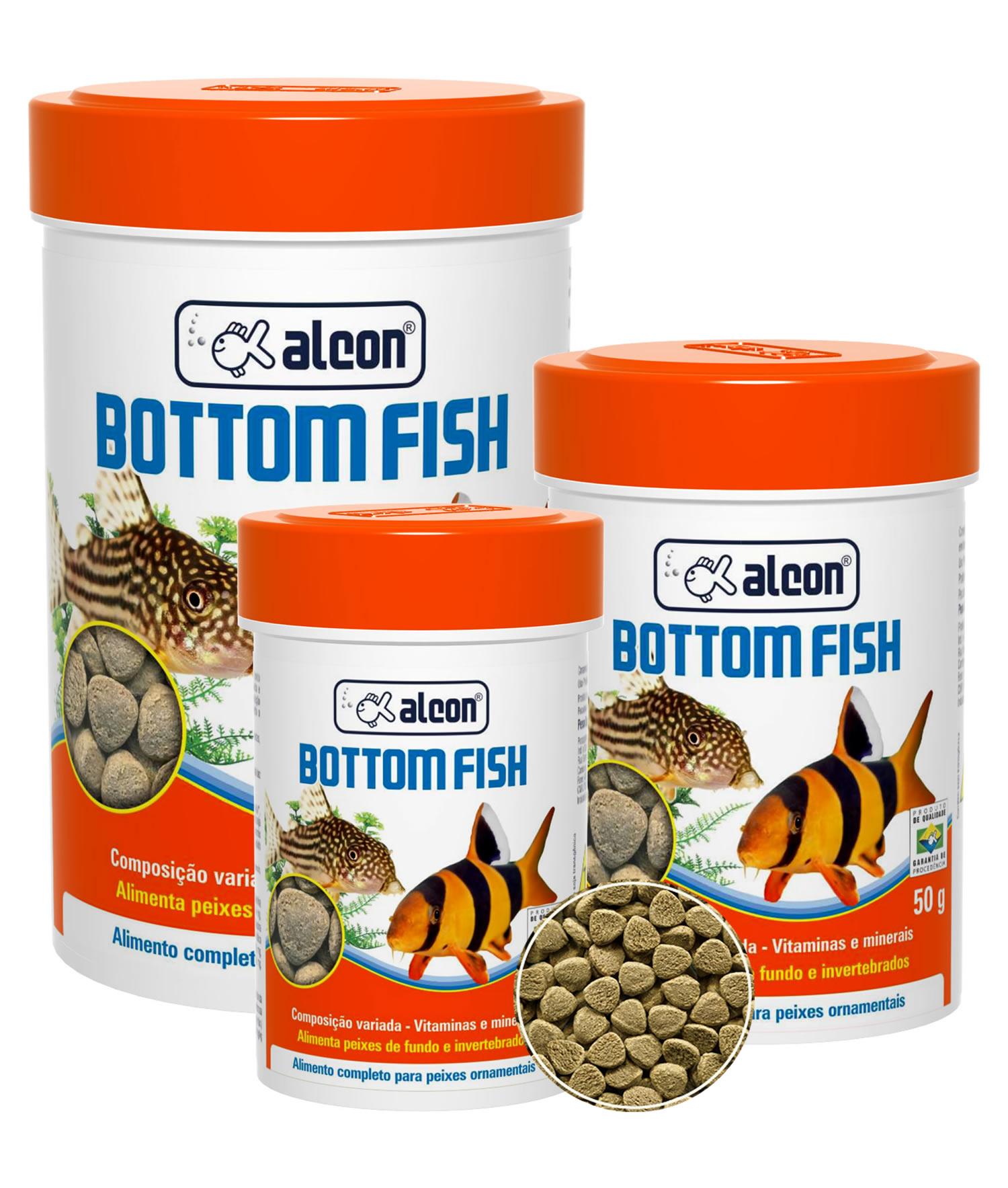 Ração Para Peixes De Fundo Alcon Bottom Fish - 30G