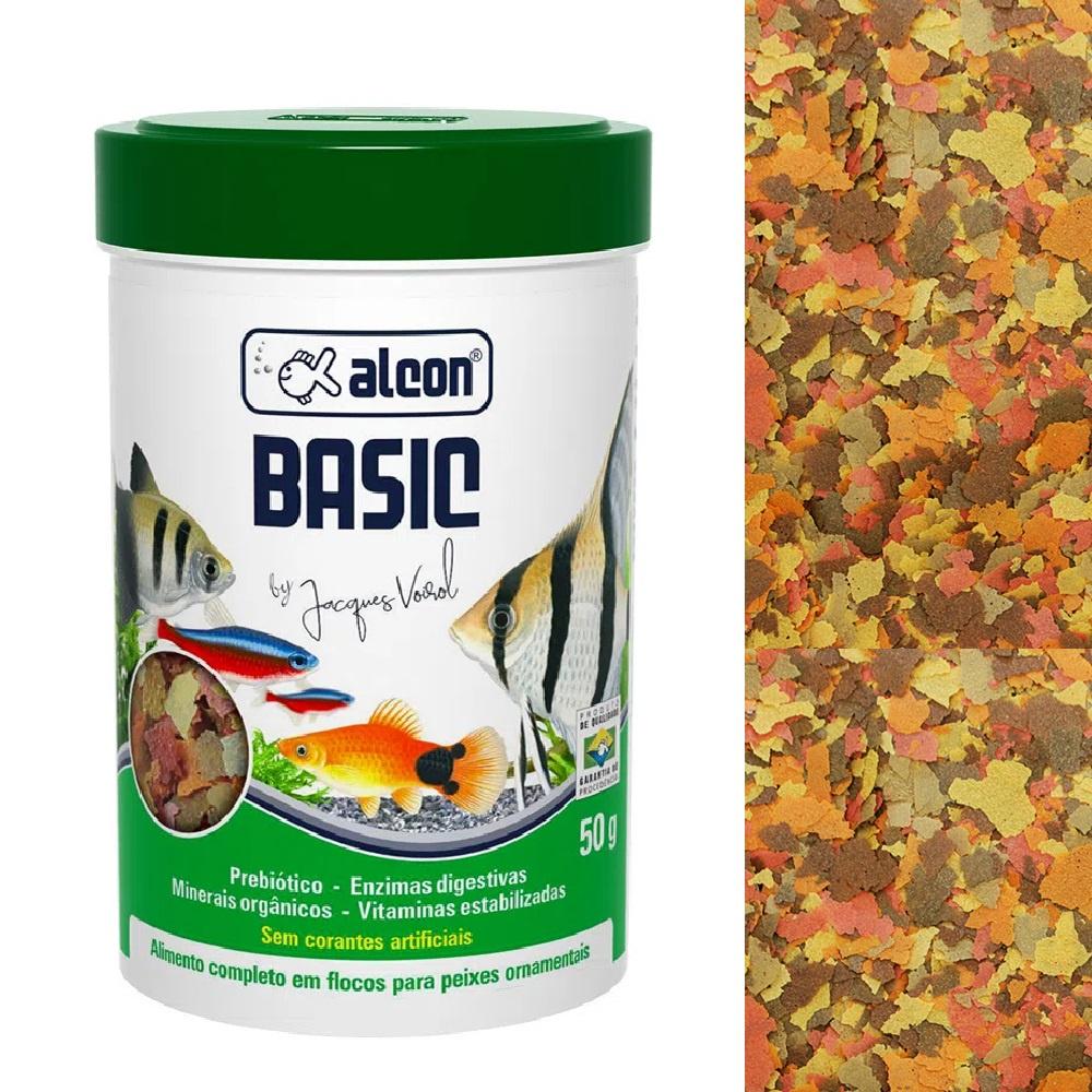 Ração Para Peixes Ornamentais Alcon Basic - 50Gr