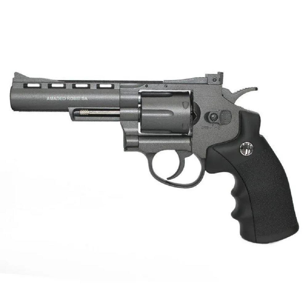 Revólver Pressão CO2 Wingun Rossi Metal - 4.5mm - M701