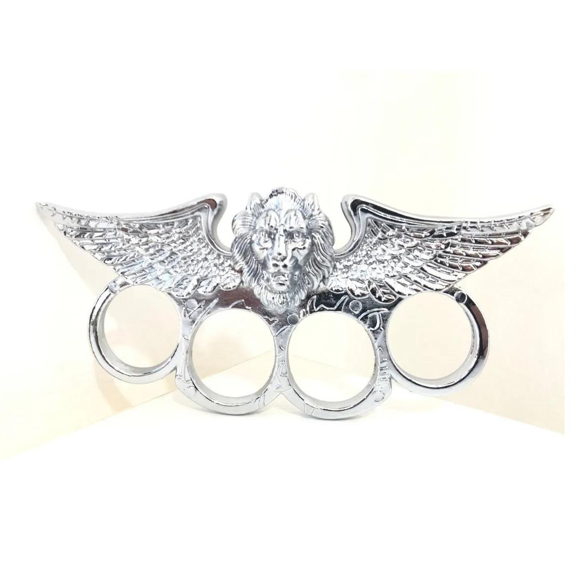 Soco ingles Leão Cromado -SLK-C09