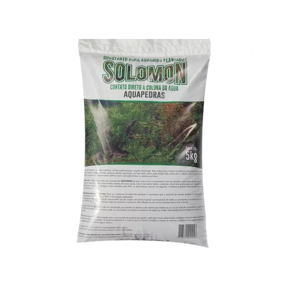 Substrato Fértil Para Aquário Solomon 5 Kg