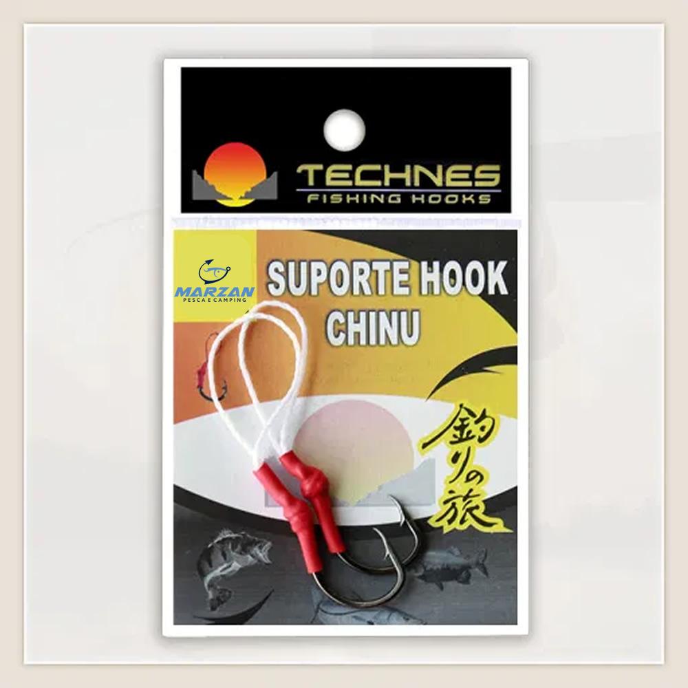 SUPORTE HOOK CHINU TECHNES - C/ 02 UNID