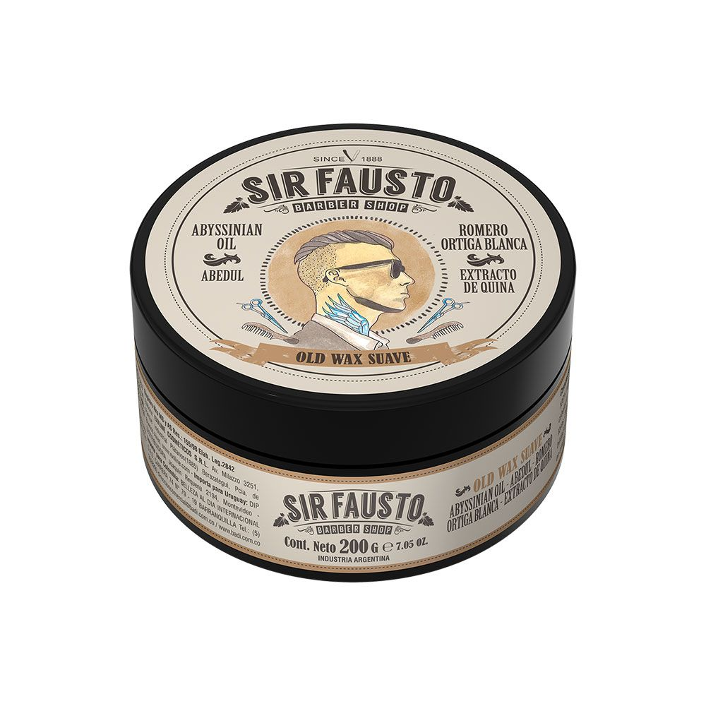 Cera Old Wax Suave Sir Fausto 200 g