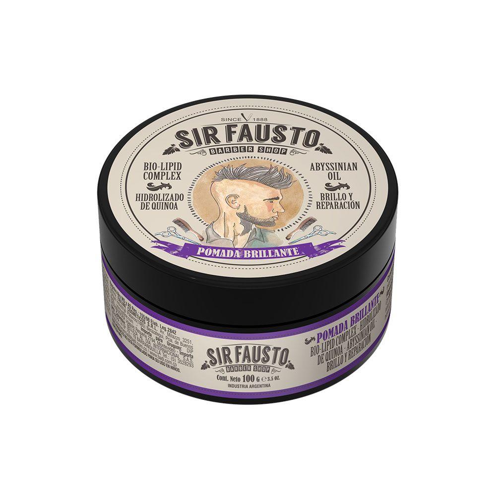 Pomada Brilhante Sir Fausto 100 g