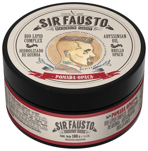 Pomada Opaca Sir Fausto 100 g