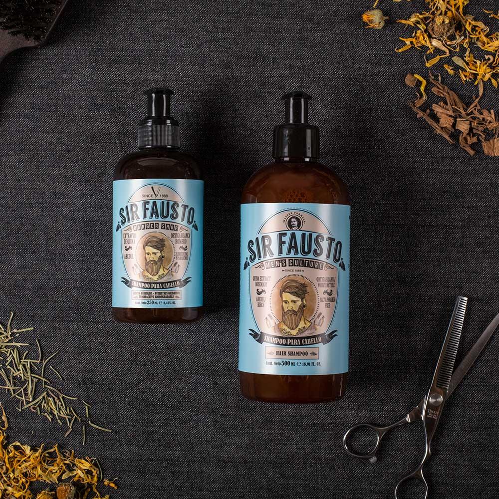 Shampoo para Cabelo Sir Fausto 250 ml