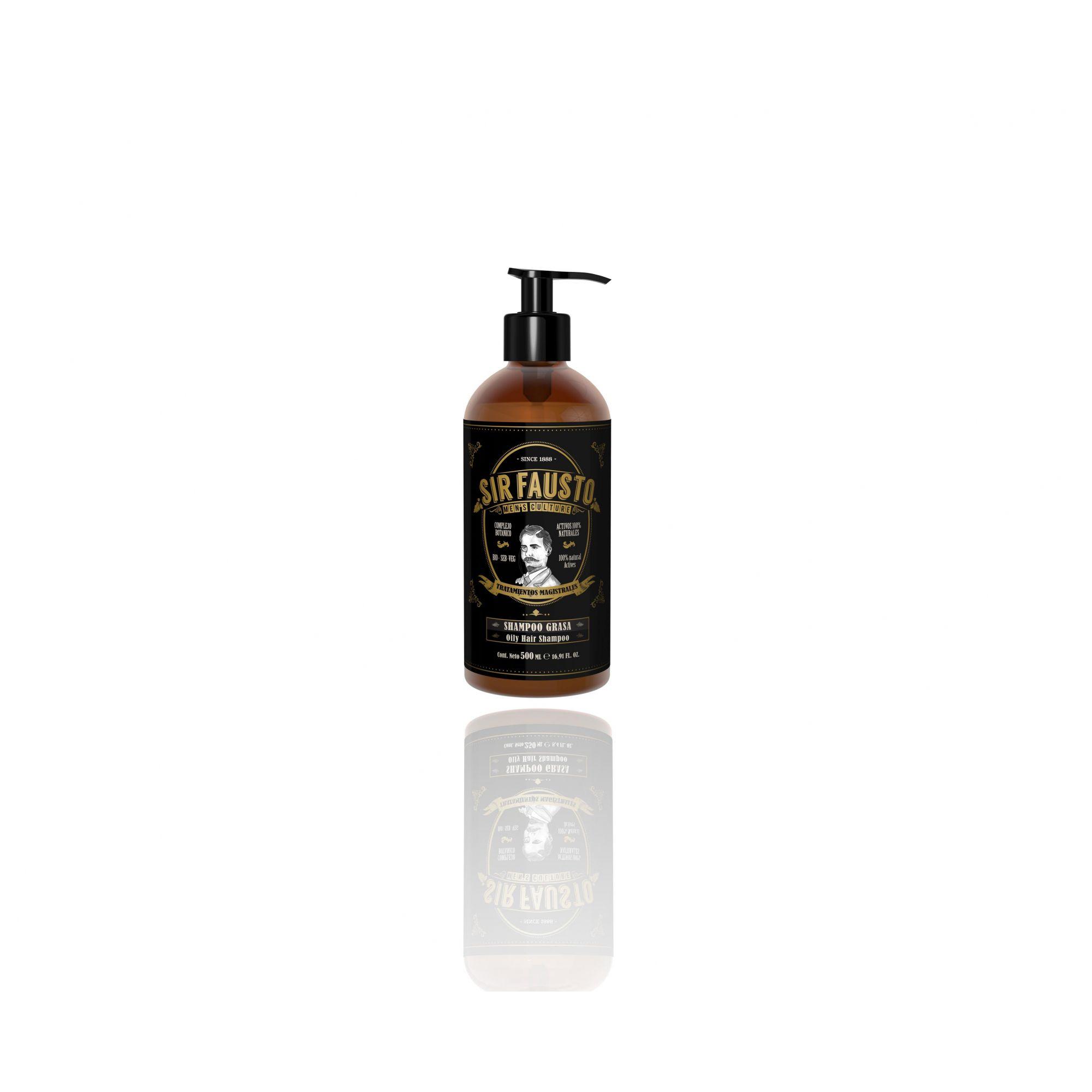 Shampoo para cabelos Oleosos- 500 ML