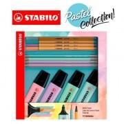 Kit Stabilo Boss Pastel - 12 unidades