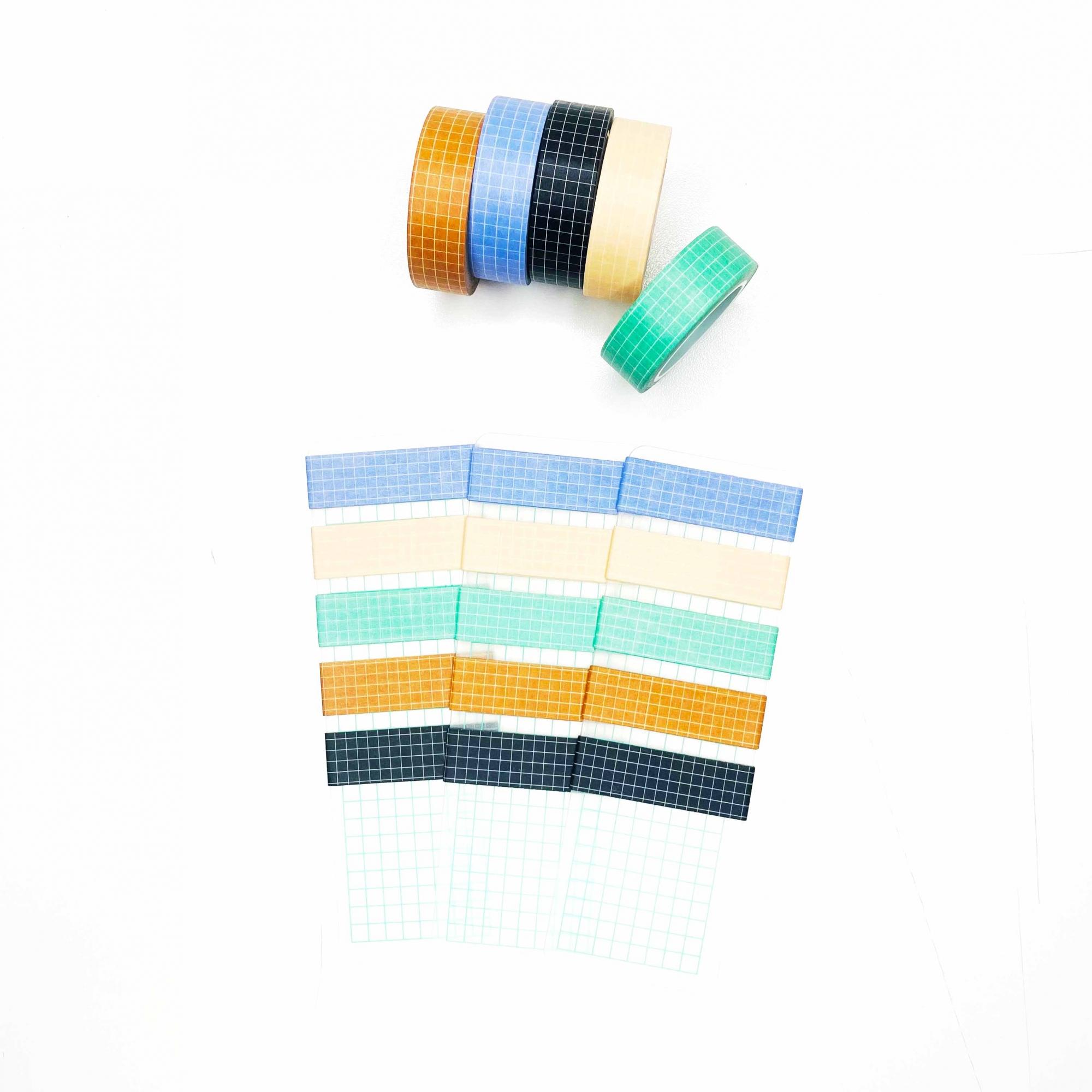 Amostras Washi Tape Grid