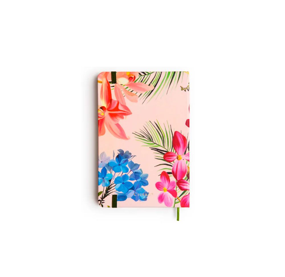 Caderno Floresta Tropical Pontilhado Paginado (Bullet Journal)