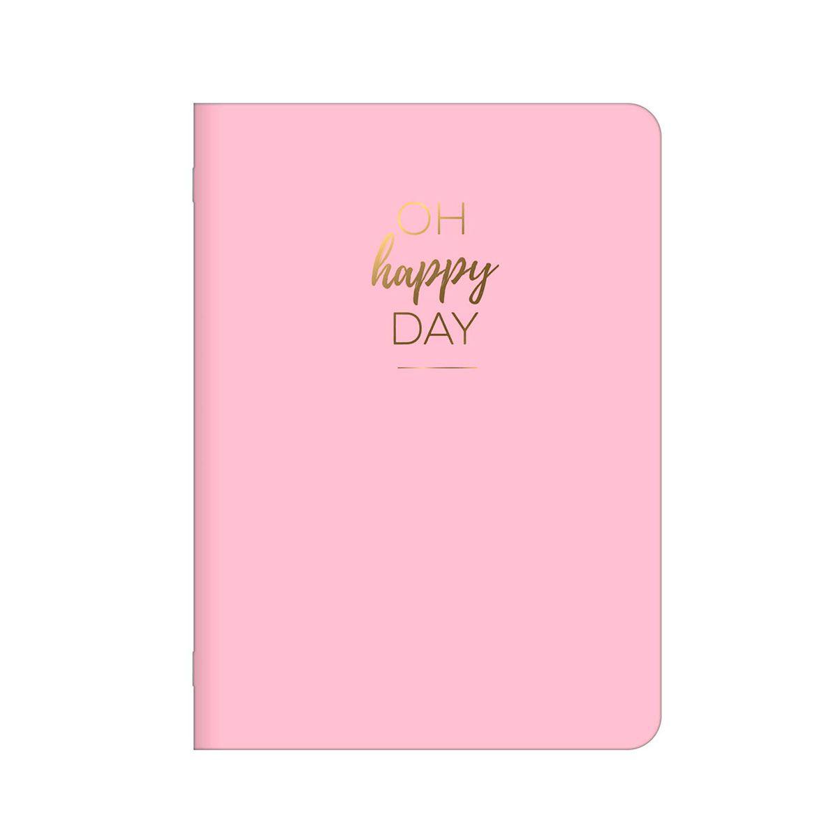Caderneta Happy Pautada