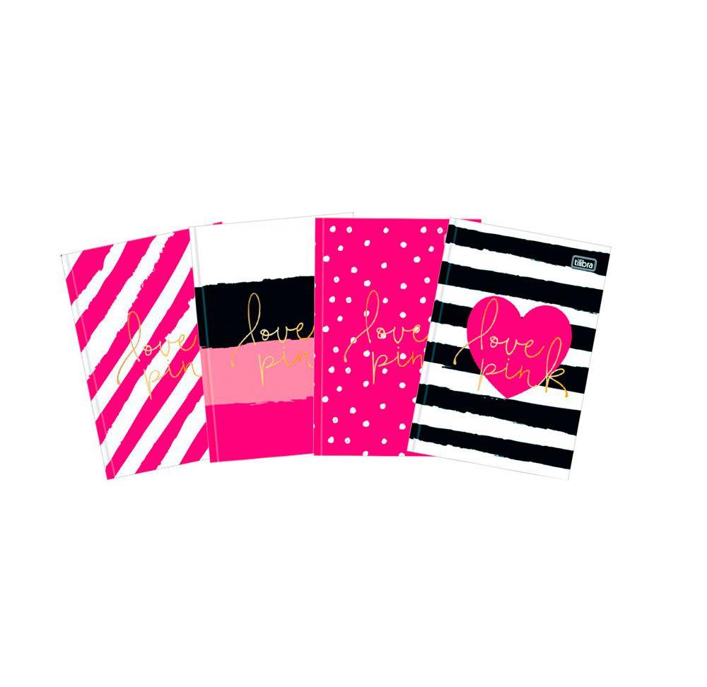 Caderno Brochura Love Pink