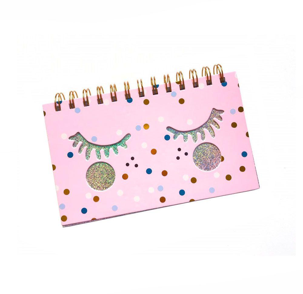Caderno Cílios