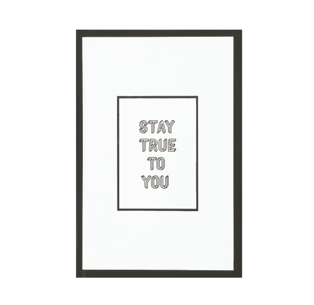 Caderno Stay True To You