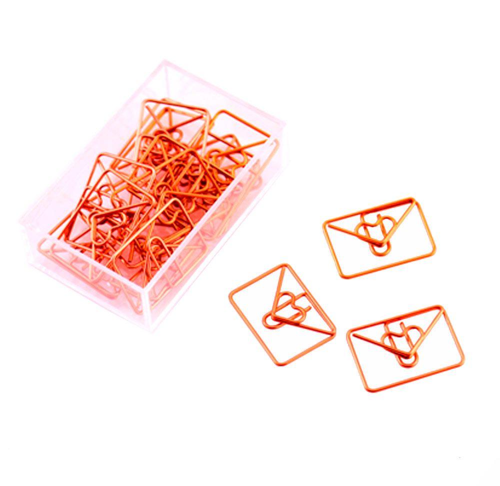 Kit 3 Clips Rose Gold - Vários Modelos - 3 unidades