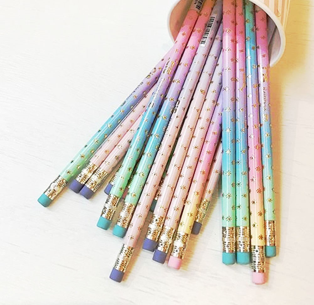 Kit Lápis Rainbow - 3 unidades