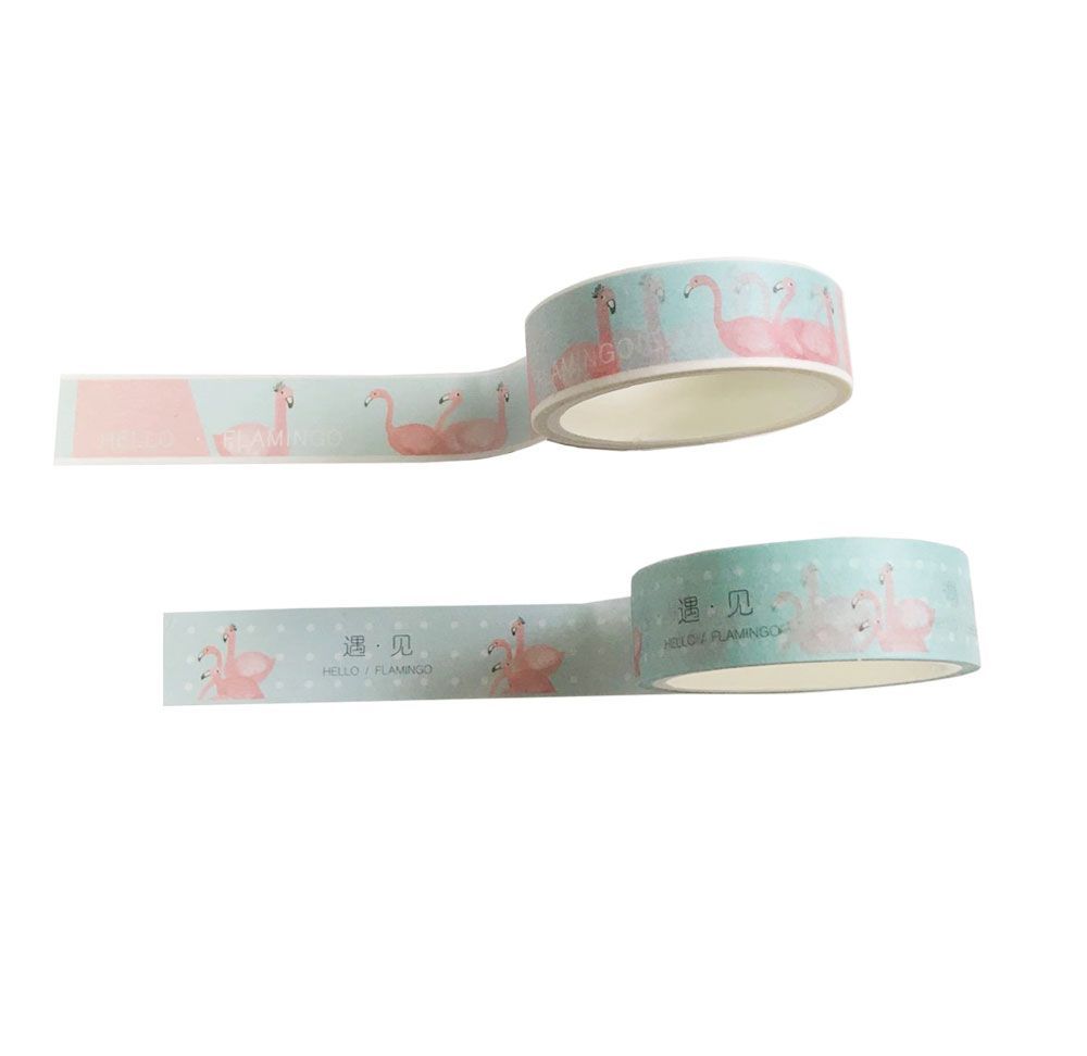 Kit Washi Tape Flamingo - 2 unidades