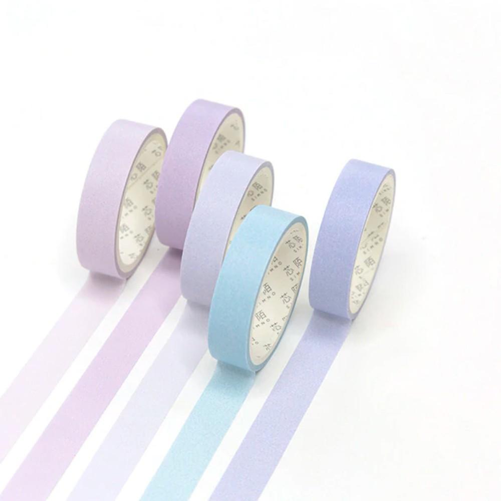 Kit Washi Tape Macaron - 5 unidades