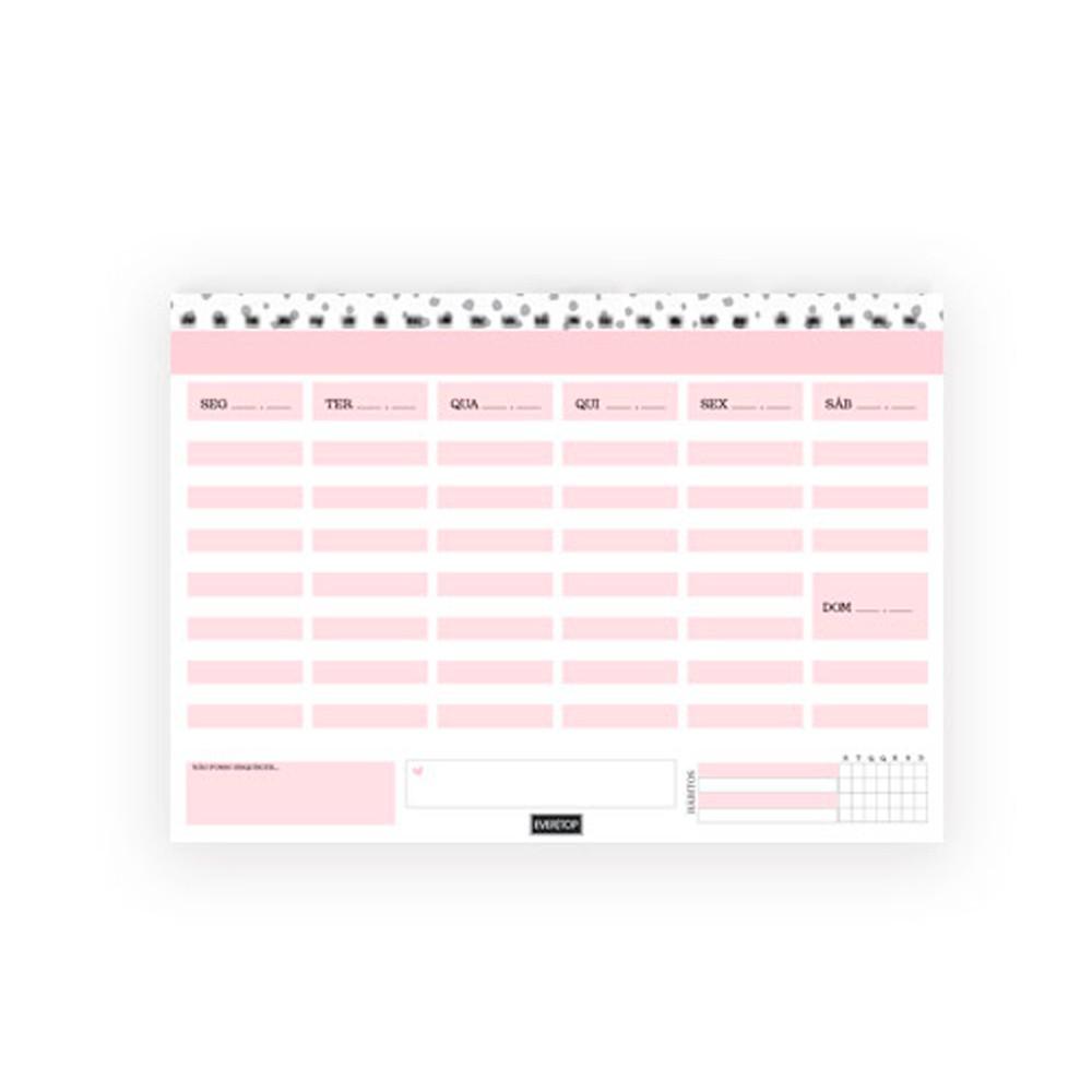 Planner Semanal Grid