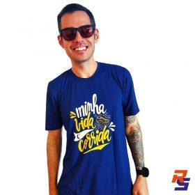 Camiseta de Corrida Unissex - Minha Vida é Corrida | LONGÃO