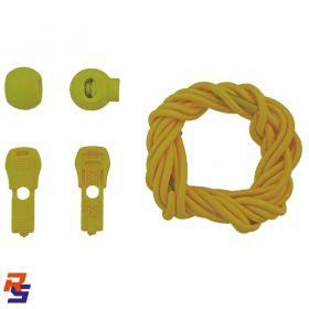 Coollace Cadarço Elástico - Amarelo | CIA COOL